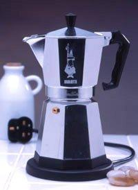 Bialetti Stove Top Espresso Pots Percolators, full range uk Bialetti Star Kona Moka - Red Monkey ...