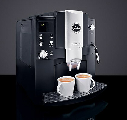 jura impressa e60 automatic espresso machine and bean. Black Bedroom Furniture Sets. Home Design Ideas
