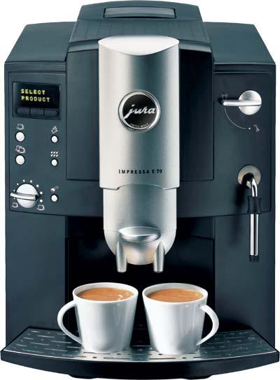 Jura Impressa E70 Automatic Espresso Machine And Bean